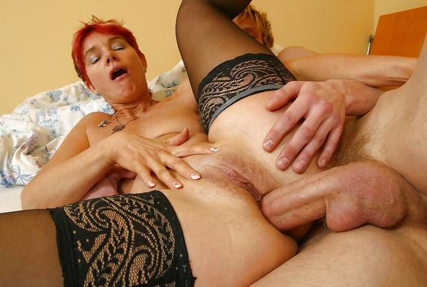 femme mature sodomisée