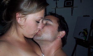 baisé fougueux
