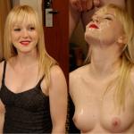 blonde à jus