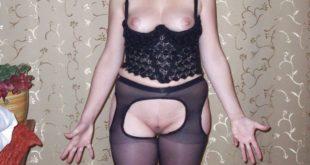 cougar en lingerie