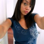 selfie femme noire