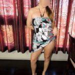 coquine en robe sexy