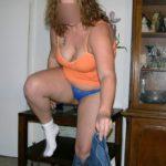 femme en petite culotte photo intime