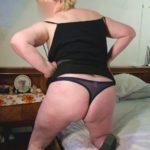 femme ronde en string